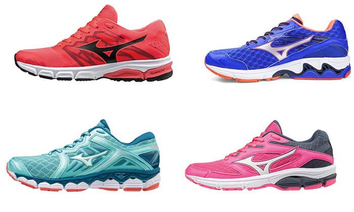 7 נעלי ריצה לנשים MIZUNO