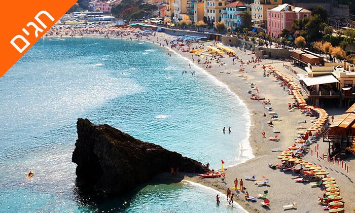 8 קיץ וחגים בריביירה האיטלקית - כולל רכב ומלון מומלץ