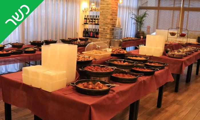 7 שובר הנחה על תפריט האוכל המוכן של מסעדת ביסטרו 3 הכשרה, רמת גן