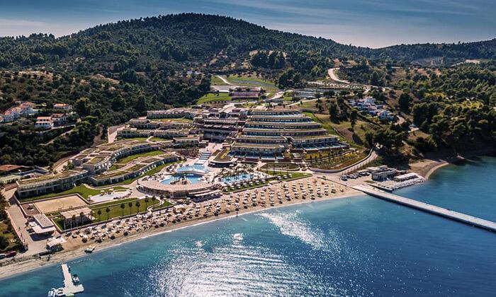"""2 קיץ 5 כוכבים באי היווני חלקידיקי, כולל סופ""""ש"""