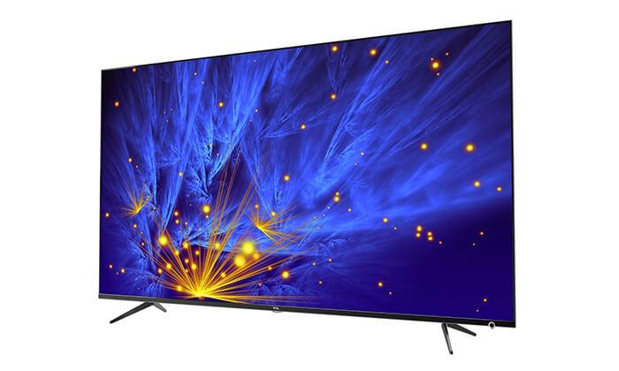 טלוויזיה חכמה 4K TCL, מסך 65 אינץ'