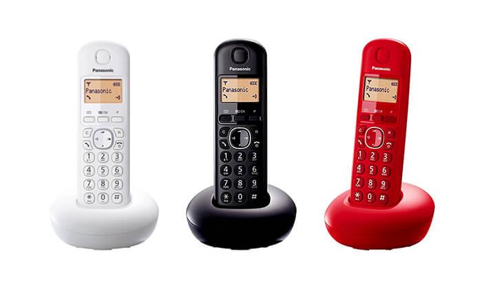 2 טלפון אלחוטי פנסוניק Panasonic