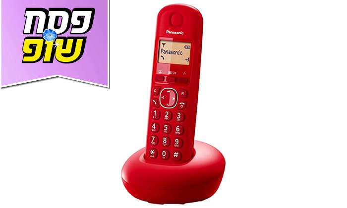4 טלפון אלחוטי פנסוניק Panasonic