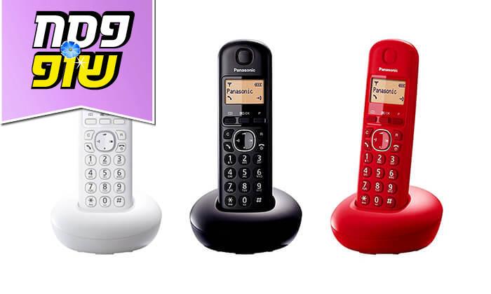 6 טלפון אלחוטי פנסוניק Panasonic