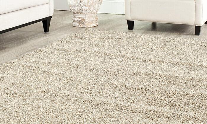 7 שטיח לסלון קטן דגם שאגי
