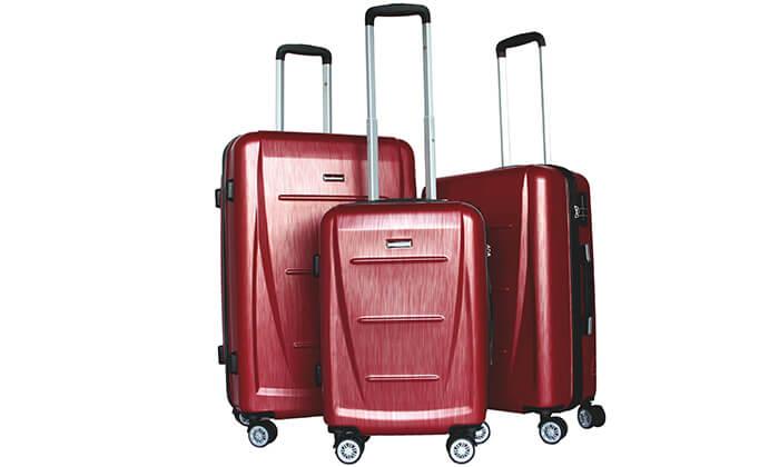5 סט 3 מזוודות SWISS