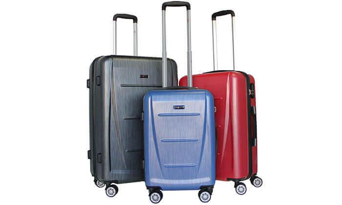 7 סט 3 מזוודות SWISS