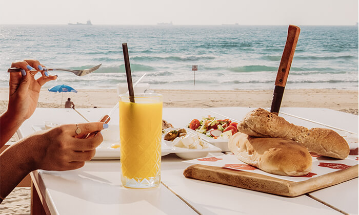 8 ארוחת בוקר זוגית במסעדת ארמאיס, אשדוד