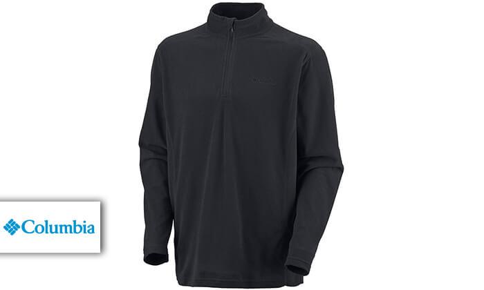 2 חולצת מיקרופליז לגברים Columbia - משלוח חינם!