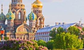 8 ימים במוסקבה וסנט פטרסבורג