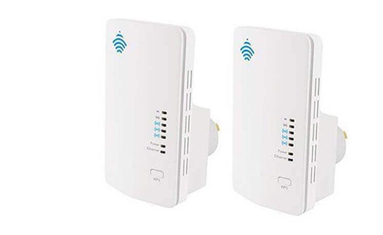 2 יחידות מגדילי טווח WiFi