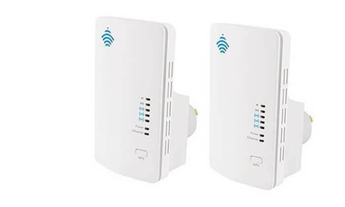 4 2 יחידות מגדילי טווח WiFi