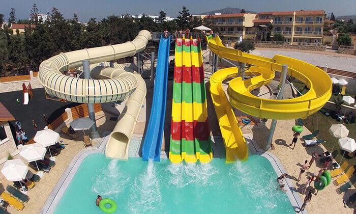 2 הכול כלול בכרתים למשפחות - מלון עם פארק מים, כולל סופ''ש ויום העצמאות