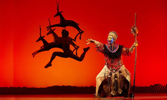 3 מלך האריות - כרטיסים למחזמר בלונדון