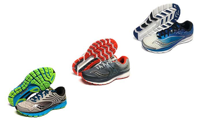 8 נעלי ריצה לגברים סאקוני Saucony