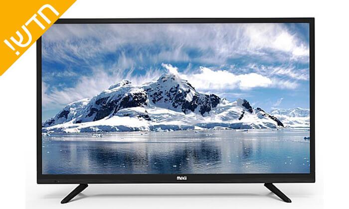 2 טלוויזיה חכמה 4K MAG, מסך 55 אינץ'