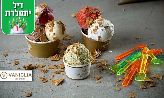 גלידה ברשת וניליה