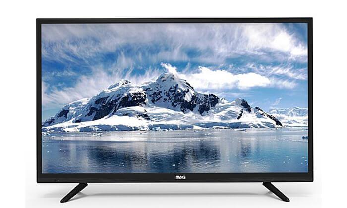 2 טלוויזיה חכמה 4K MAG, מסך 65 אינץ'
