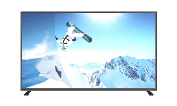 2 טלוויזיה חכמה נורמנדה Normande, מסך 65 אינץ' - משלוח חינם!