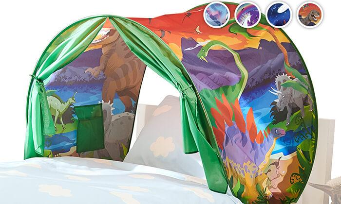 אוהל חלומות למיטת ילדים