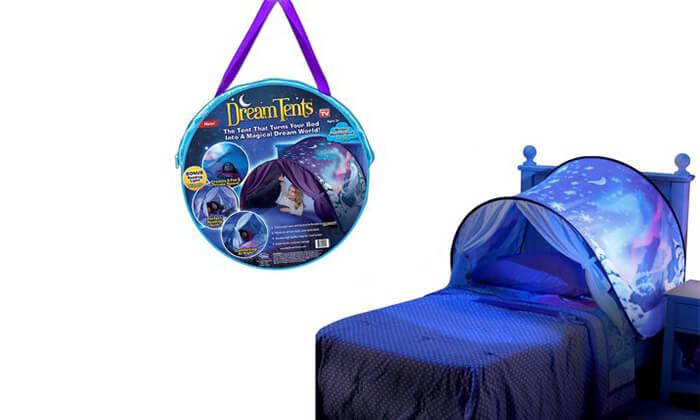 3 אוהל חלומות למיטת ילדים