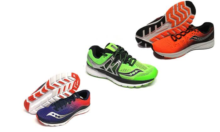 2 נעלי ריצה לגברים סאקוני Saucony