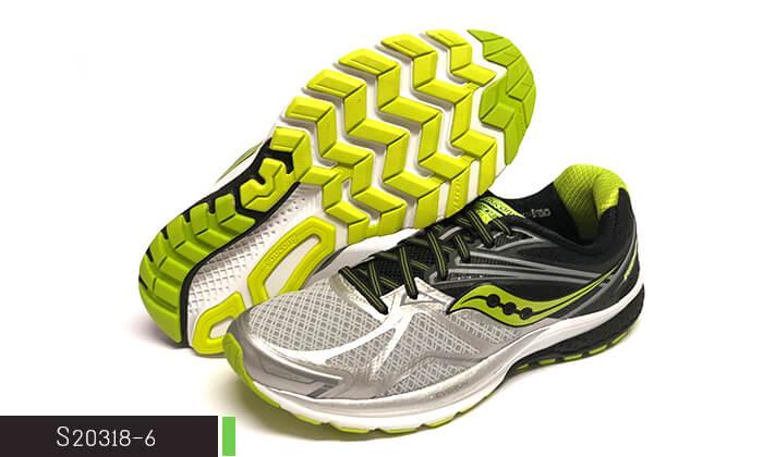 5 נעלי ריצה לגברים סאקוני Saucony