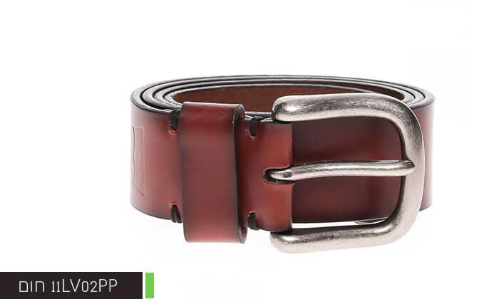 4  חגורת עור LEVI'S ליוויס לגברים
