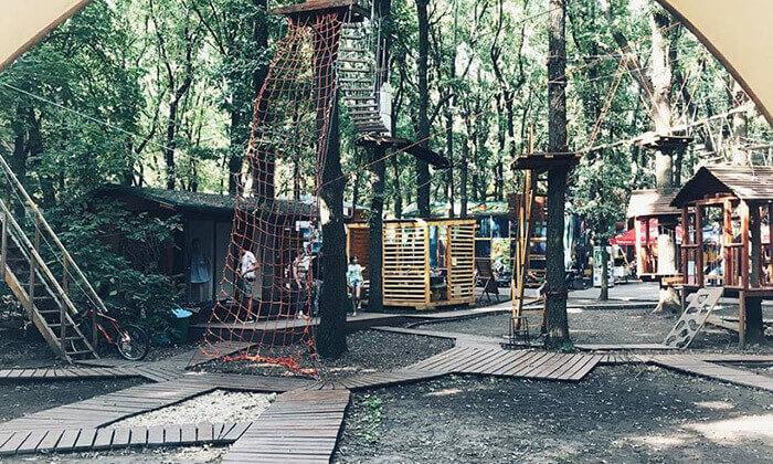 7 יולי-אוגוסט באודסה - טיול מאורגן למשפחות כולל גן חיות ופארק חבלים