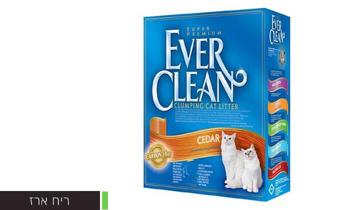 3 מארז קופסאות חול מתגבש לחתולים EVER CLEAN