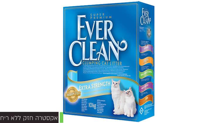 5 מארז קופסאות חול מתגבש לחתולים EVER CLEAN