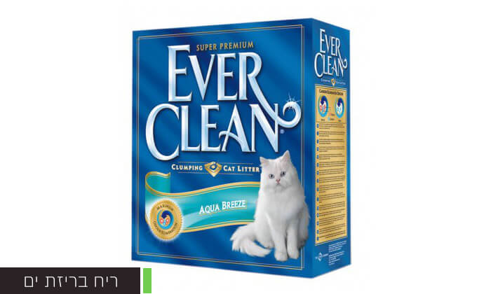 7 מארז קופסאות חול מתגבש לחתולים EVER CLEAN