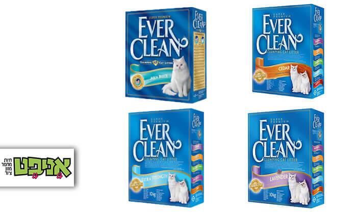 2 מארז קופסאות חול מתגבש לחתולים EVER CLEAN
