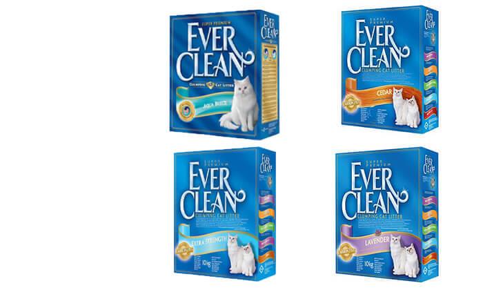 8 מארז קופסאות חול מתגבש לחתולים EVER CLEAN