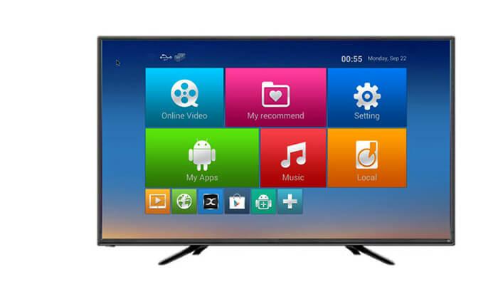 4 טלוויזיה חכמה Peerless, מסך 40 אינץ'