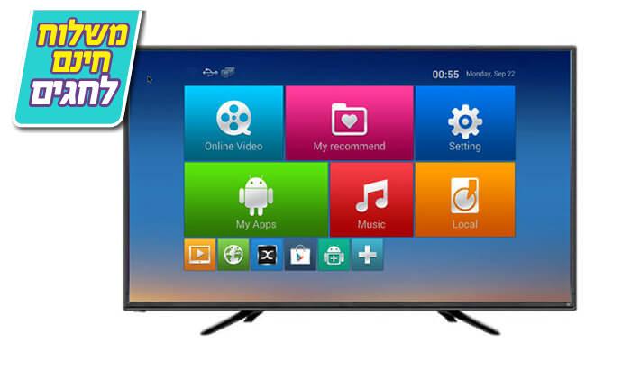 4 טלוויזיה חכמה Peerless, מסך 40 אינץ' - משלוח חינם!