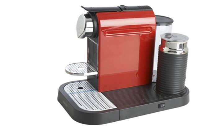 4 מכונת קפה נספרסו Nespresso כולל 14 קפסולות