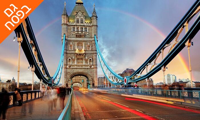 4 חופשה בלונדון, כולל פסח ושבועות - שופינג, מחזות זמר, פיש אנד צ'יפס ועוד קצת שופינג