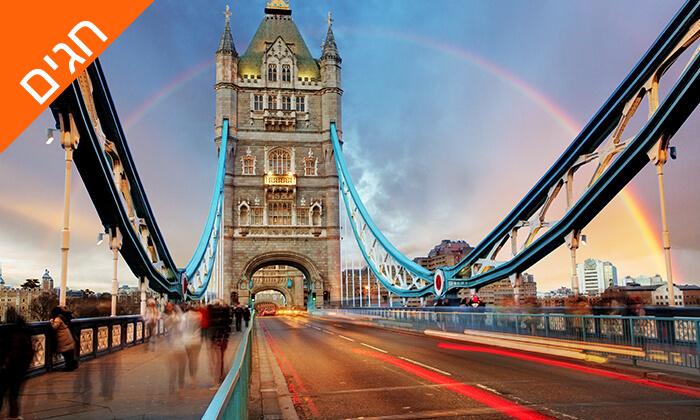 4 חופשה בלונדון, כולל שבועות - שופינג, מחזות זמר ופיש אנד צ'יפס