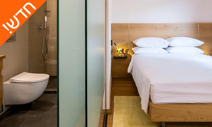 """4 חדש! חופשה אורבנית במלון בוטיק במושבה הגרמנית חיפה, כולל סופ""""ש"""