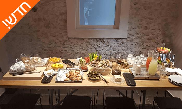 """6 חדש! חופשה אורבנית במלון בוטיק במושבה הגרמנית חיפה, כולל סופ""""ש"""