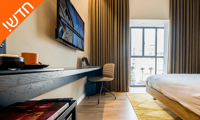 """2 חדש! חופשה אורבנית במלון בוטיק במושבה הגרמנית חיפה, כולל סופ""""ש"""