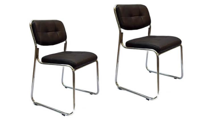 2 שני כיסאות אורח ROSSO ITALY