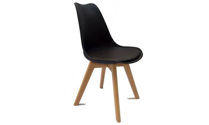 3 כסא מרופד לפינת אוכל ROSSO ITALY