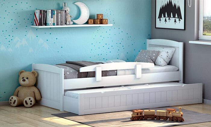 5 שמרת הזורע: מיטת ילדים נפתחת 'בזוקה'