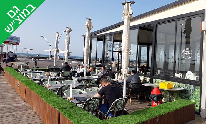 6 פרש קיטשן Fresh Kitchen בנמל תל אביב - ארוחה זוגית