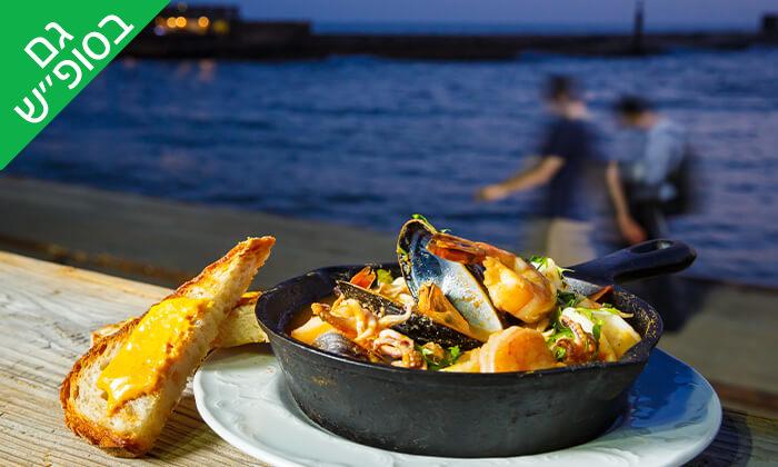 3 ארוחת שף במסעדת 'איטלקי מקומי' - שוק האיכרים בנמל תל אביב