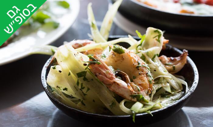 8 ארוחת שף במסעדת 'איטלקי מקומי' - שוק האיכרים בנמל תל אביב