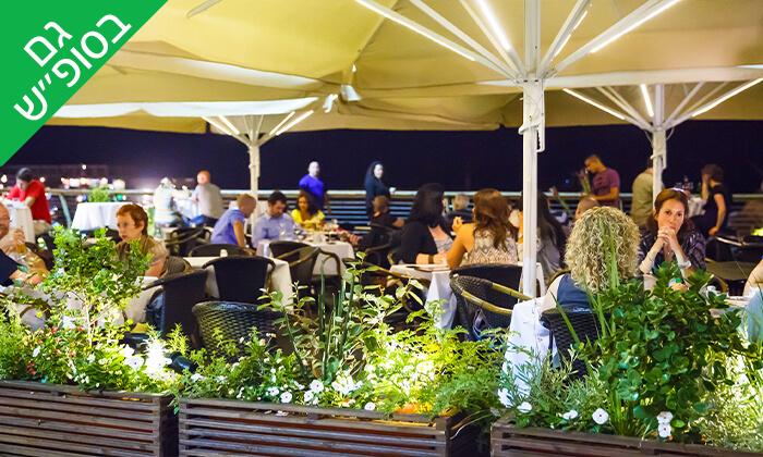 4 ארוחת שף במסעדת 'איטלקי מקומי' - שוק האיכרים בנמל תל אביב