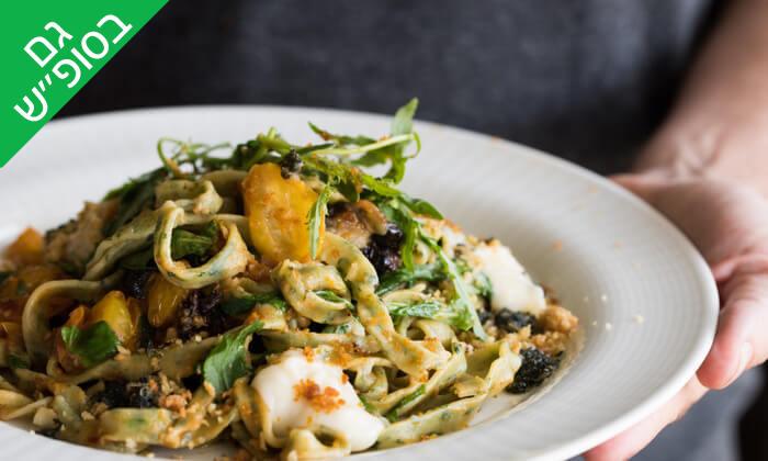 7 ארוחת שף במסעדת 'איטלקי מקומי' - שוק האיכרים בנמל תל אביב